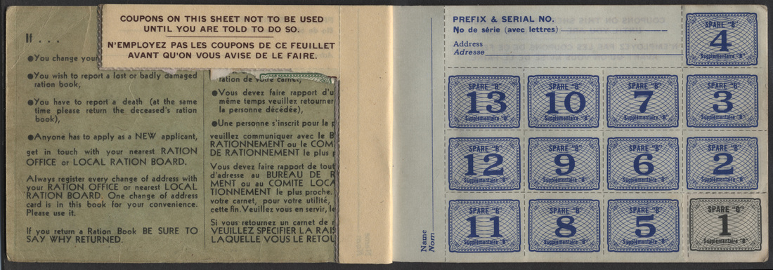 Canada - War Ration - Canadian Stamps and collectables of ...